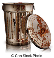 Rust clipart Bucket Rust a rendering garbage