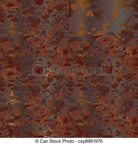 Rust clipart Metal Plate of rust Vector