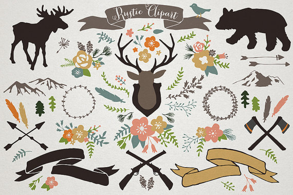 Rustic clipart Mountain commercial Rustic Clipart clipart