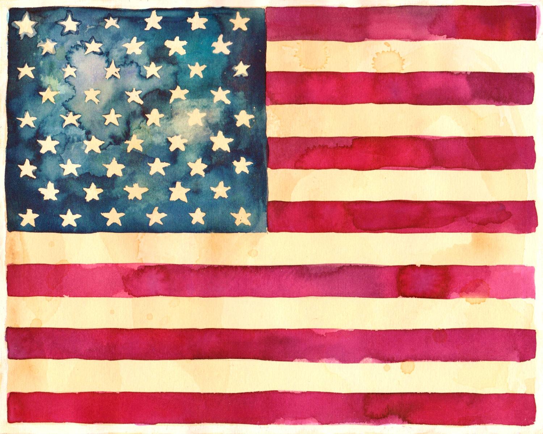 American Flag clipart rustic American Flag  Star Spangled