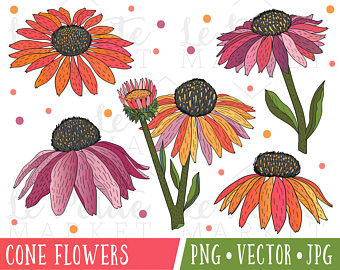 Rustic clipart daisy Digital Illustrations clipart Flower Art