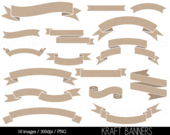 Wood clipart ribbon Wood Clipart Clipart Banners Banner