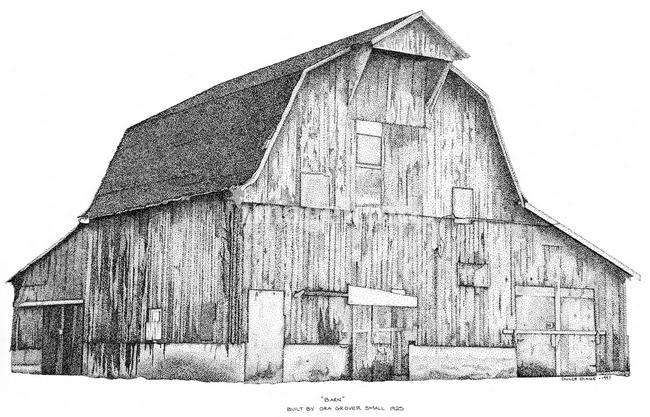 Barn clipart rustic barn 78; Rustic Views 531; Type