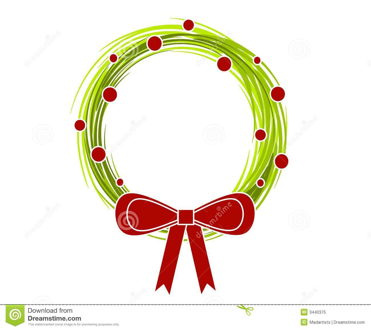 Wreath clipart modern Rustic collection Rustic clipart christmas