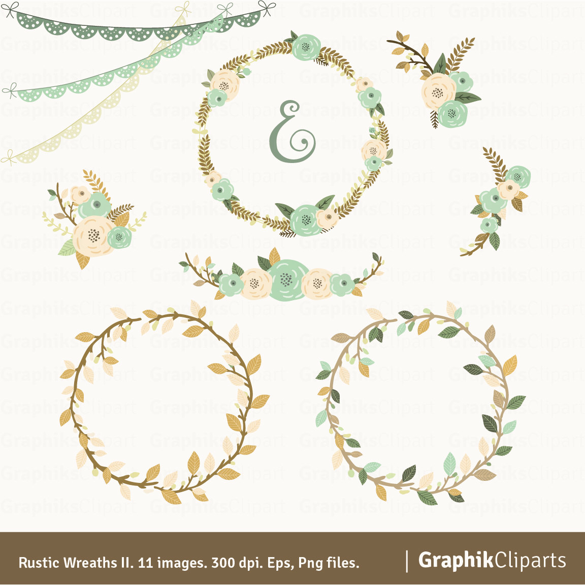 Wreath clipart happy easter Wreaths is a Clipart Floral