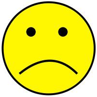 Mood clipart straight face Clipart Free Yellow sad Sad