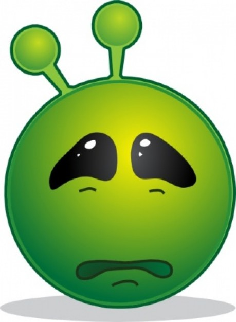 Alien clipart sad Sad art free clip free
