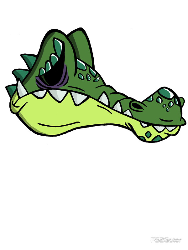 Alligator clipart sad Alligator