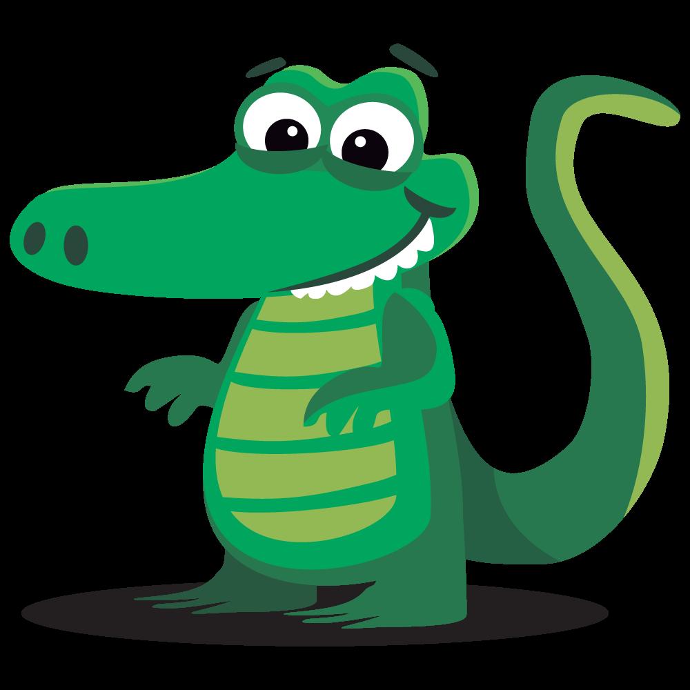 Alligator clipart cute & Public · Alligator Free