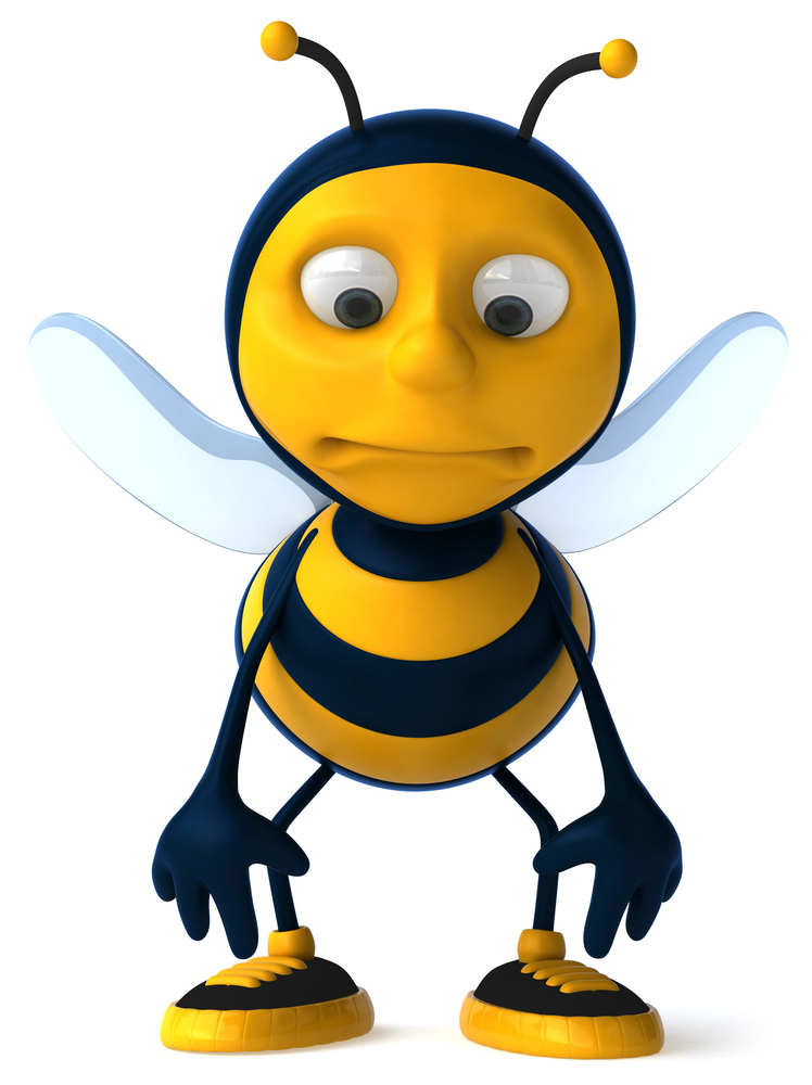 Sad clipart bumble bee #8