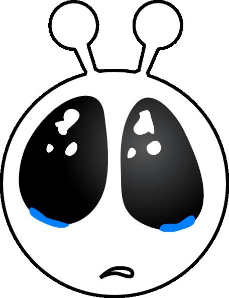 Alien clipart sad Clip Face at Clker Sad