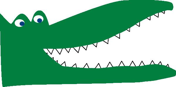 Alligator clipart mouth open Panda Crocodile Clipart Free Crocodile