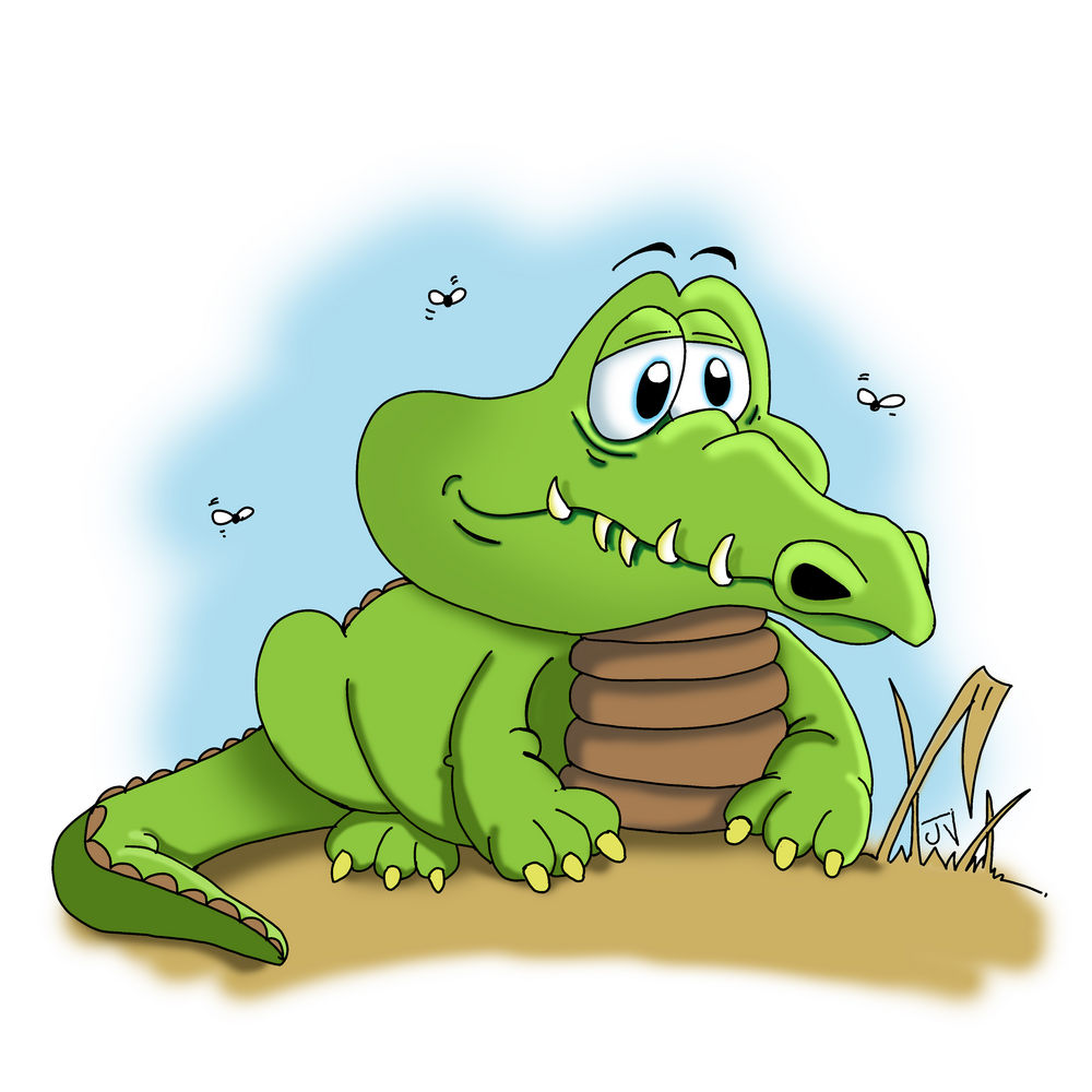 Alligator clipart sad Free Clipart Panda Crocodile Images