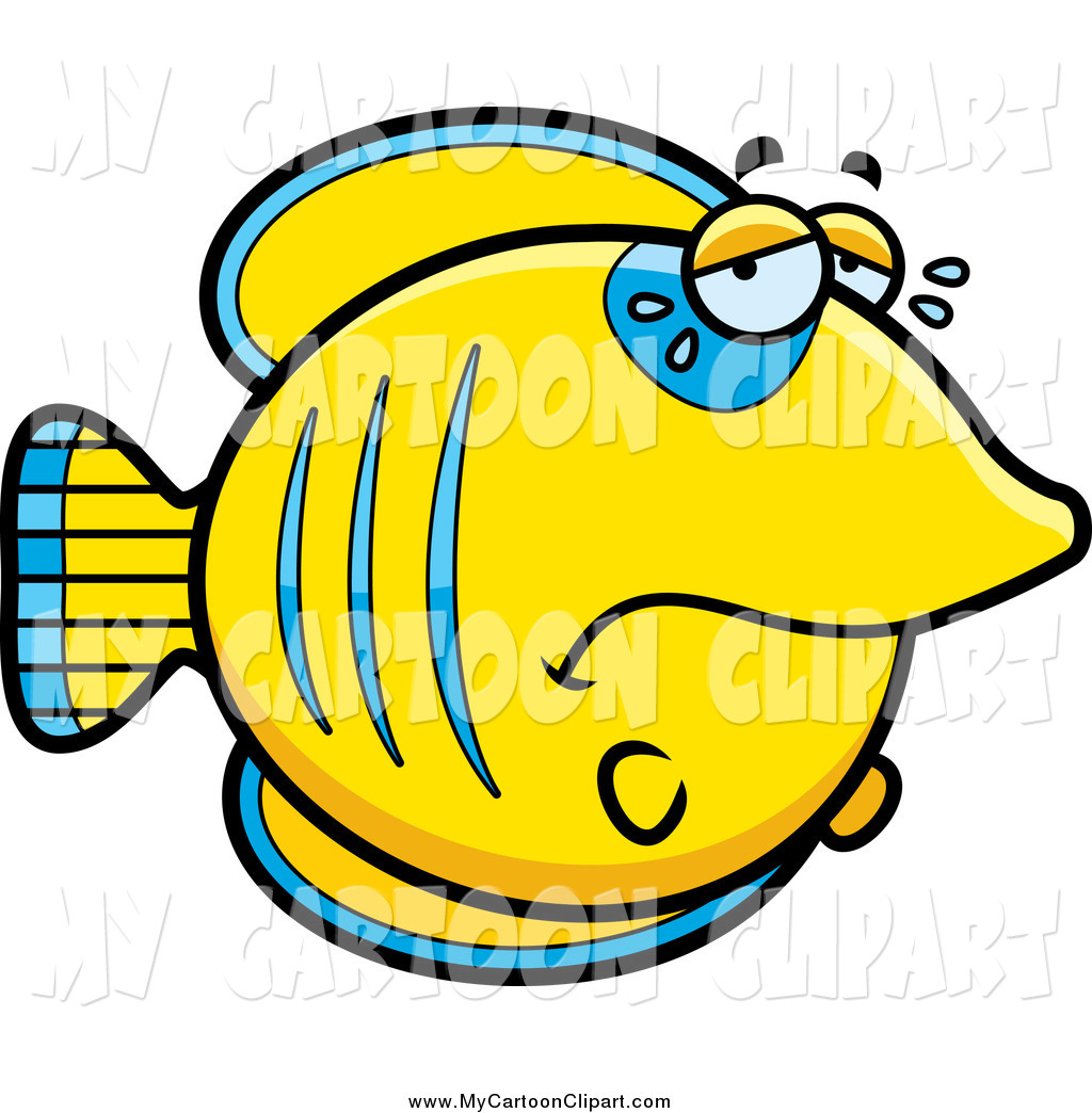 Butterflyfish clipart blue fish Art clip Sad Fish art