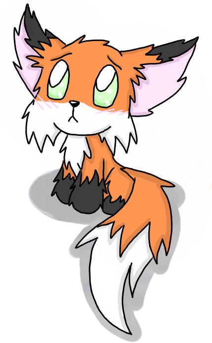 Sad clipart fox #4