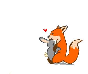 Sad clipart fox #9