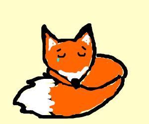 Sad clipart fox #10