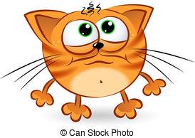 Sad clipart kitten #6