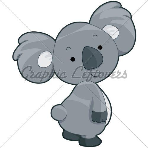 Wildlife clipart cute koala For Pics >  Clipart