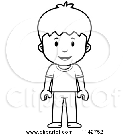 Boy clipart small boy Download and white white clipart