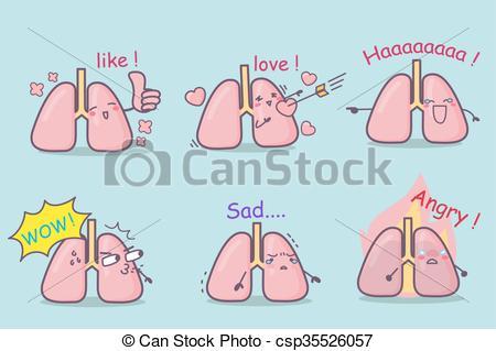 Sad clipart lung #4