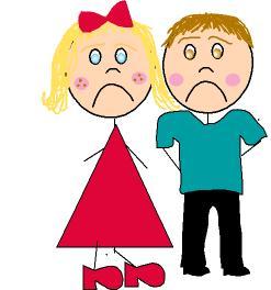 Sad clipart parent #6
