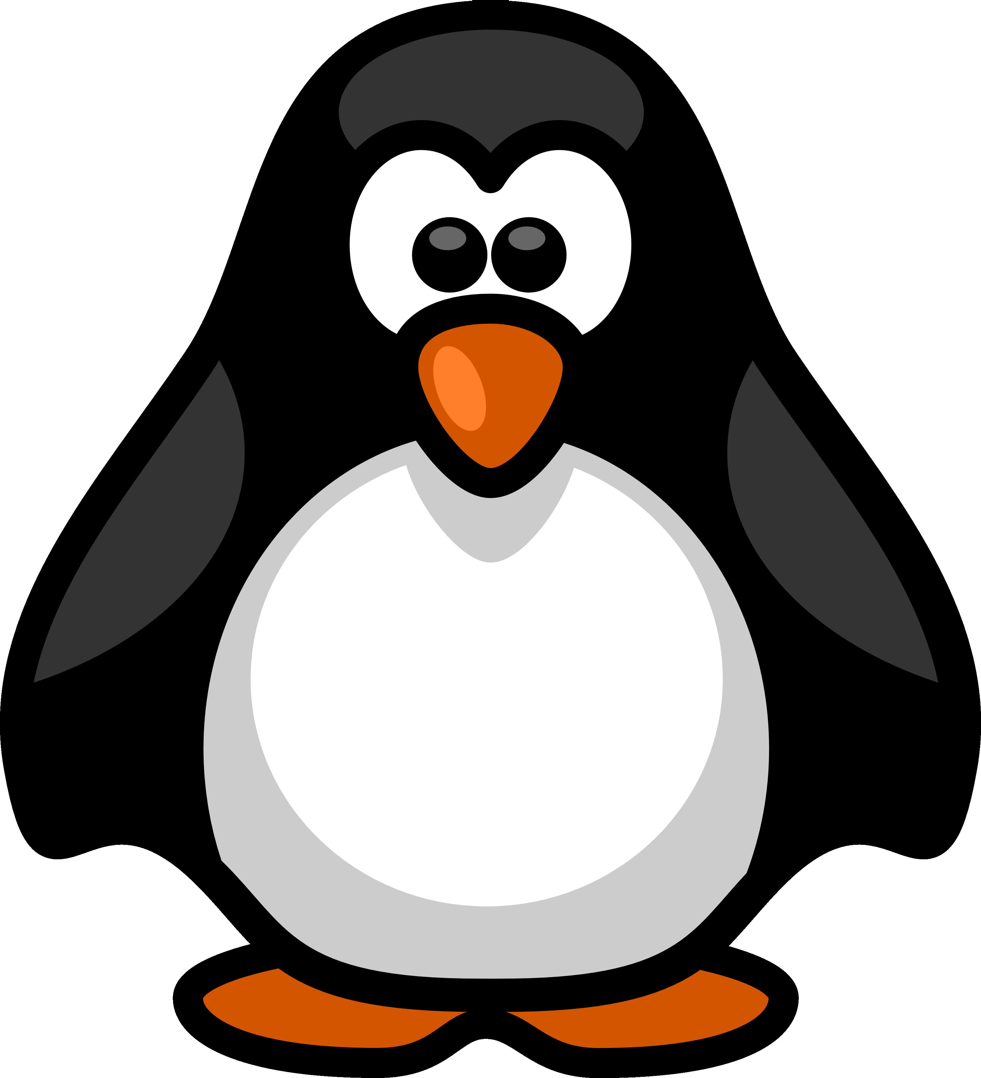 Penguin clipart transparent background Panda Penguin Santa Free Penguin