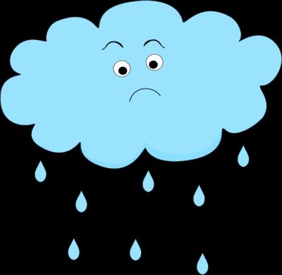 Clouds clipart sad Rain Cloud Art Rain Images
