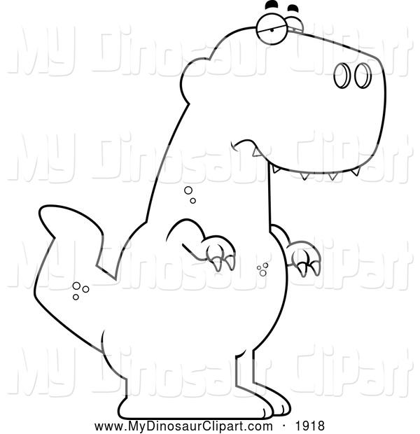 Sad clipart t rex #11