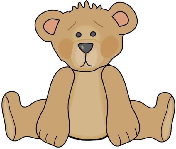 Sad clipart teddy bear #5