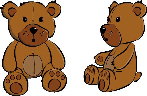 Sad clipart teddy bear #11