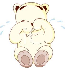 Sad clipart teddy bear #12