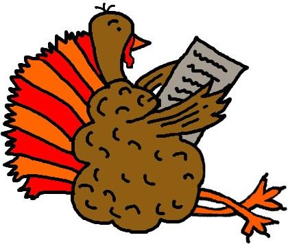 Turkey clipart sad #11