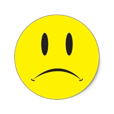 Sad clipart unhappy #4