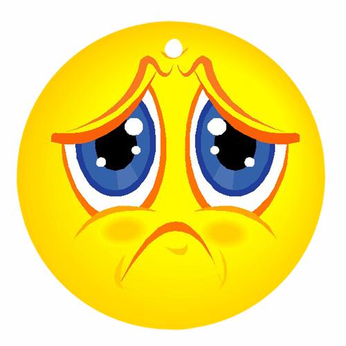Sad clipart unhappy #8