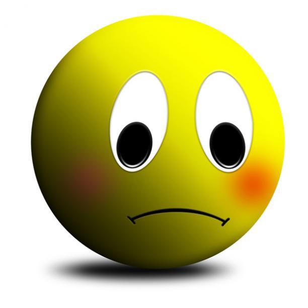 Sad clipart unhappy #12