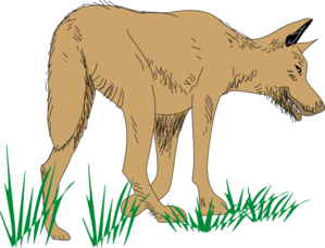 Wolf clipart sad Wolf at  Art Clip