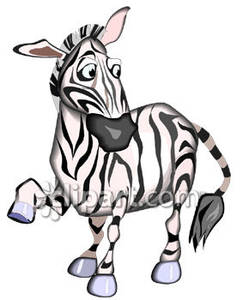 Zebra clipart silly Free Free Royalty Silly Cartoon