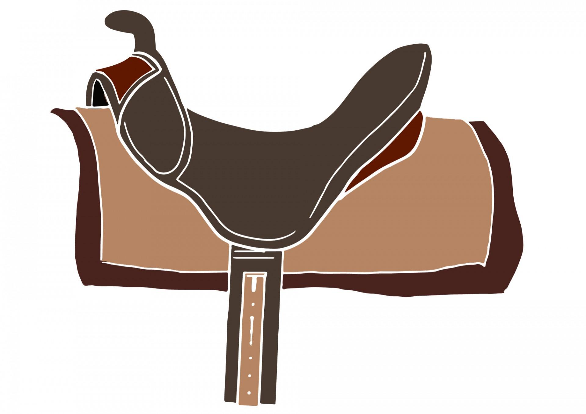 Saddle clipart #1