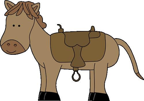 Saddle clipart #8