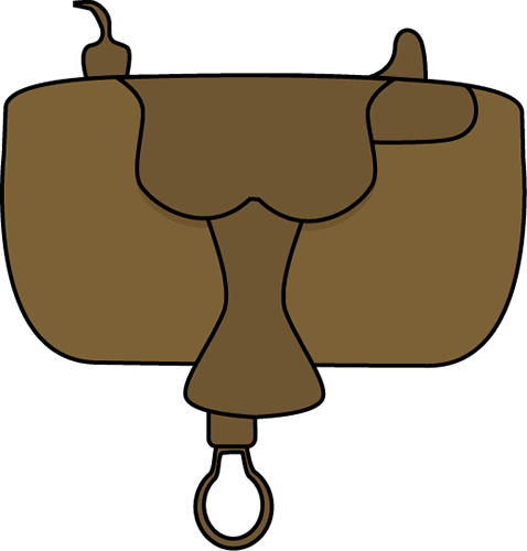 Saddle clipart #2
