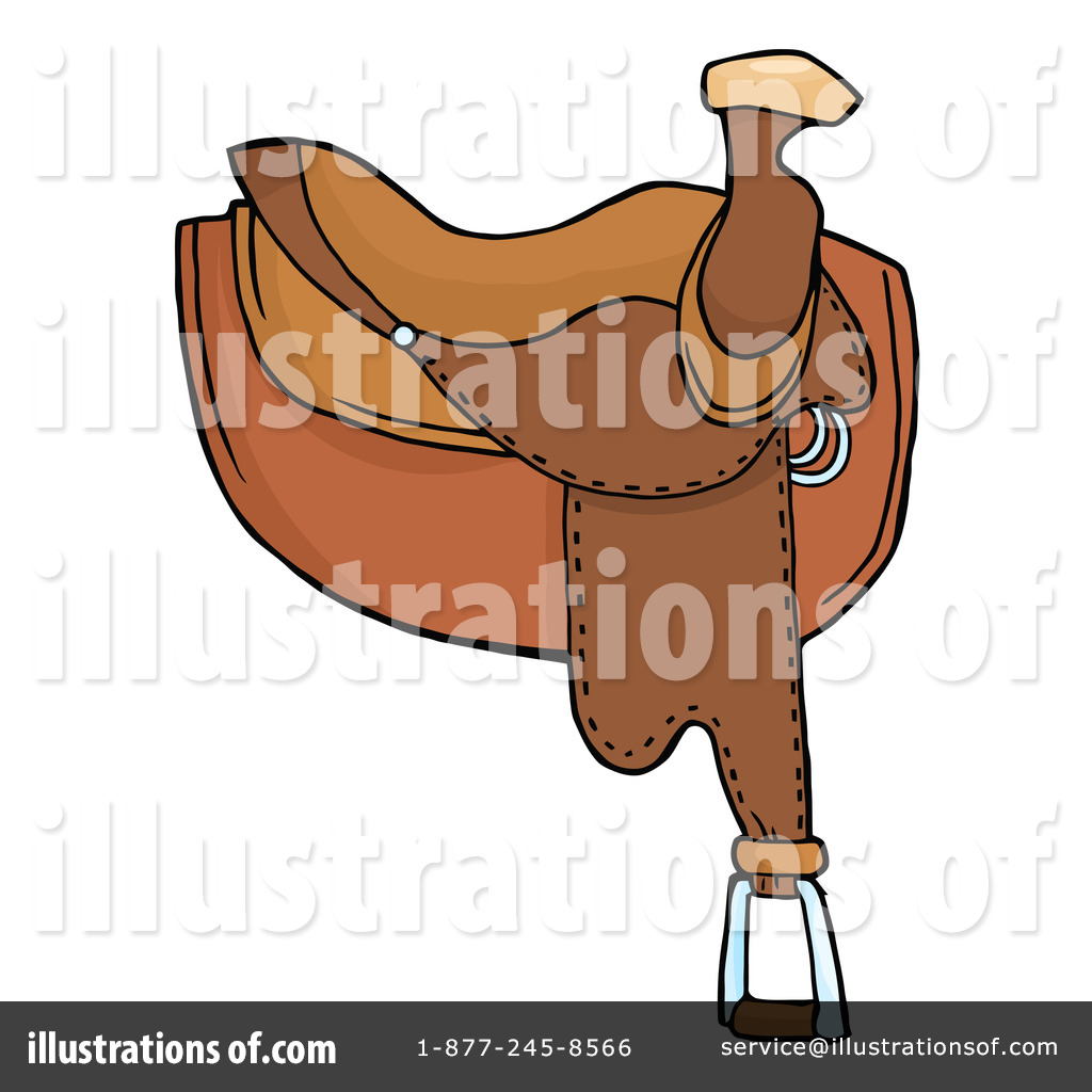 Saddle clipart horse saddle #10