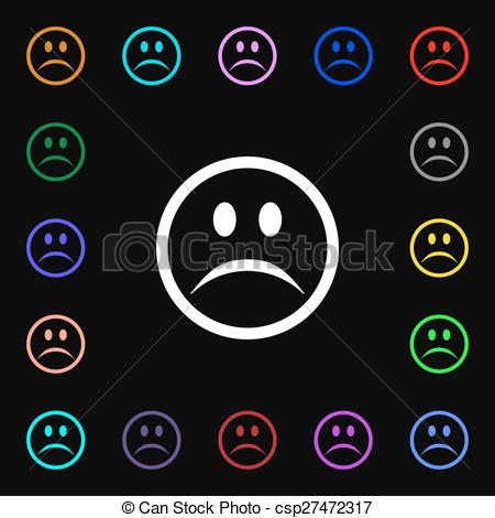 Sadness clipart depression Sign Art of sign Clip