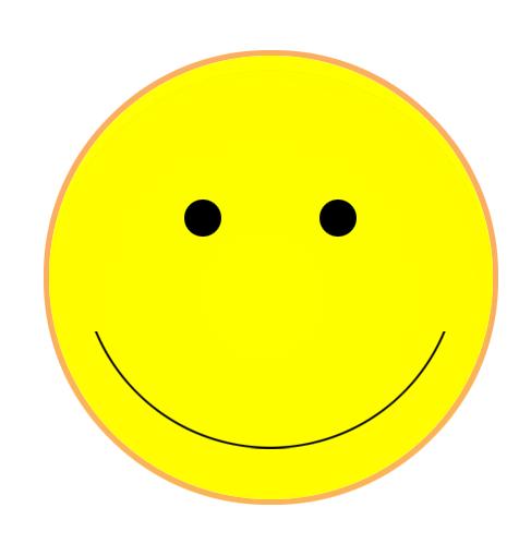 Yellow Flower clipart sad face Face Cute smiley clipart Face