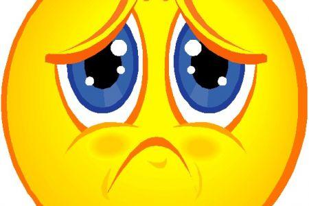 Sadness clipart frown Art face face Clipart sad