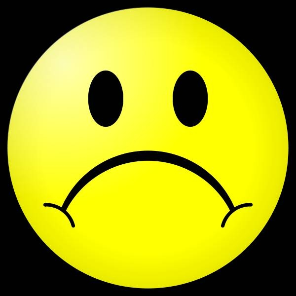Sadness clipart frown Clip Art Free Clipart Info