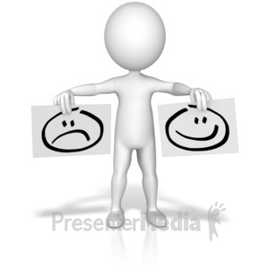 Sadness clipart frown Sad 3D for Signs