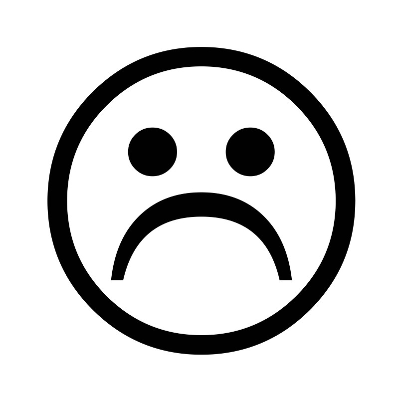 Sadness clipart frowny face By Super Free Clip Face