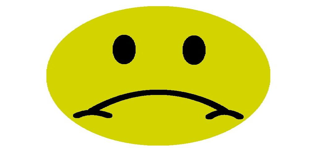 Sadness clipart frowny face That Down Face Operation Upon