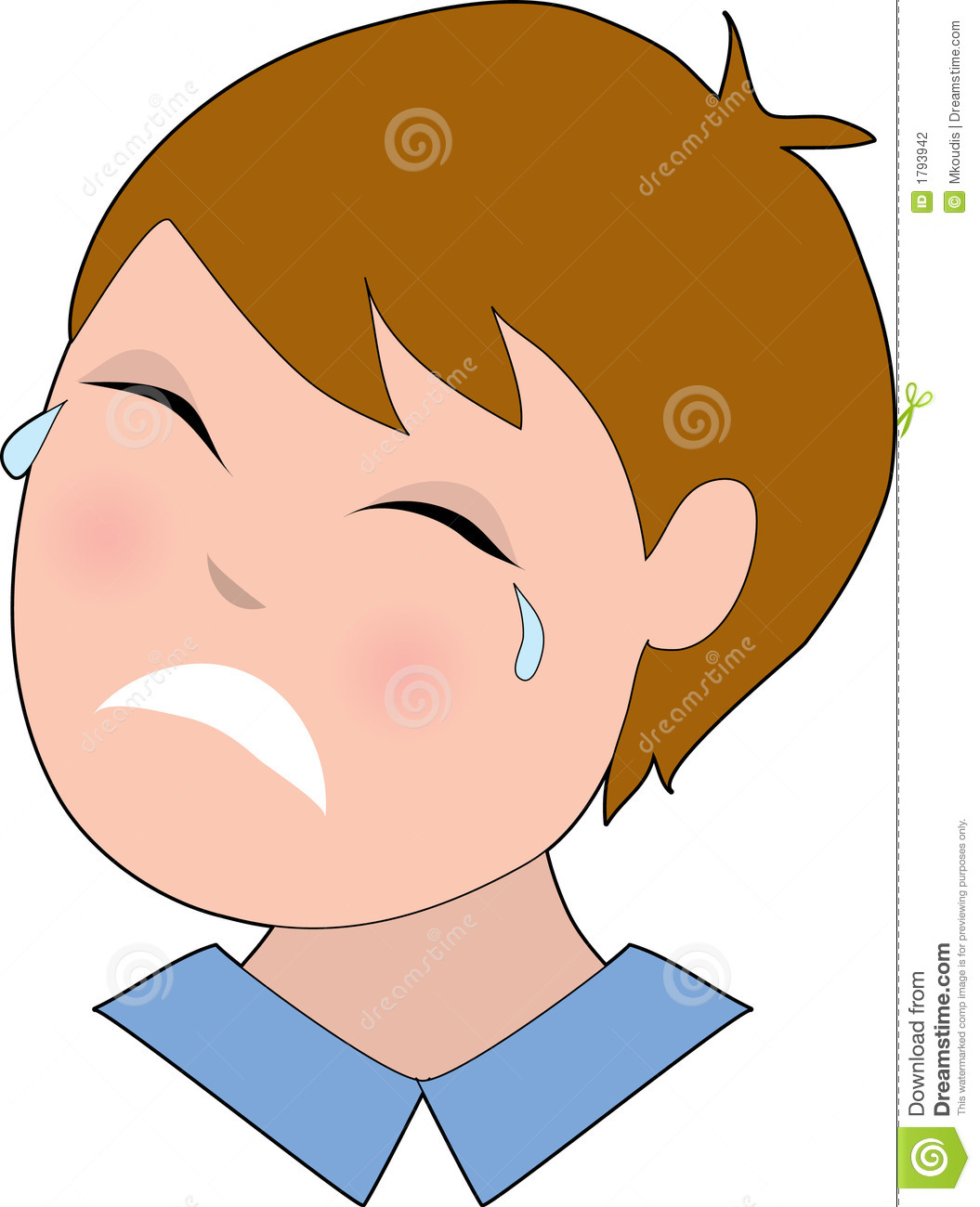 Sadness clipart sad baby Clipart All crying Man Clipart